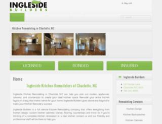 kitchenremodelingcharlottenc.net screenshot