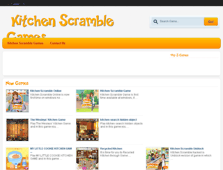 kitchenscrambleonline.org screenshot