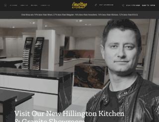 kitchensglasgow.co.uk screenshot