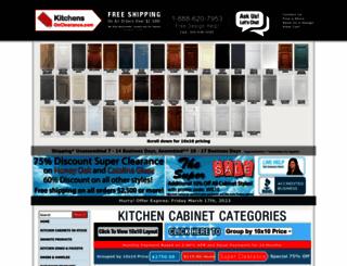 kitchensonclearance.com screenshot