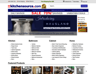 kitchensource.com screenshot
