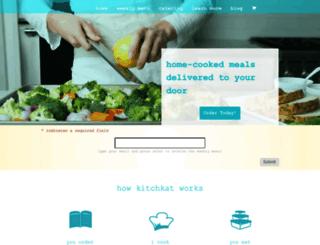 kitchkat.com screenshot