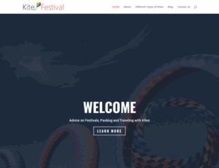 kite-festival.org.uk screenshot