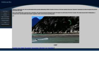 kiteboardbc.com screenshot