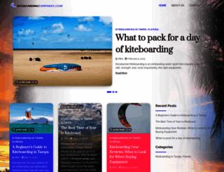 kiteboardingtampabay.com screenshot