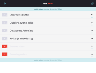 kiteflyers.nl screenshot