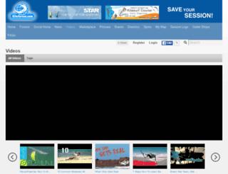 kiteforum.tv screenshot