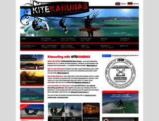 kitekahunas.com screenshot