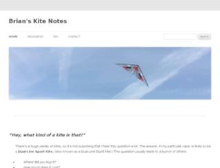 kitenotes.com screenshot