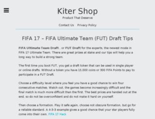 kitershop.com screenshot