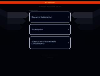 kitesurf-magazine.co.uk screenshot