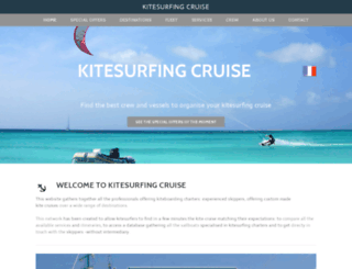 kitesurfarisxm.com screenshot