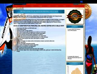 kitesurfingvillage.com screenshot