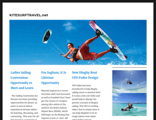 kitesurftravel.net screenshot
