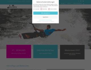 kitesurfworldcup.de screenshot