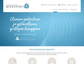 kiteytys.fi screenshot