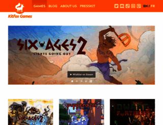 kitfoxgames.com screenshot