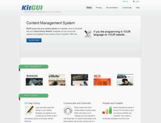 kitgui.com screenshot