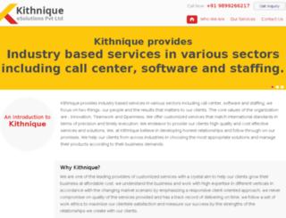 kithnique.com screenshot