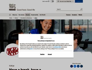 kitkat.com screenshot