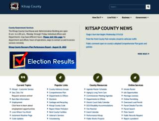 kitsapgov.com screenshot
