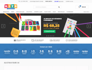 kitsegifts.com.br screenshot