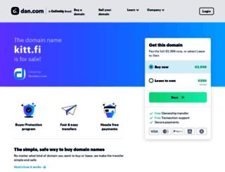 kitt.fi screenshot
