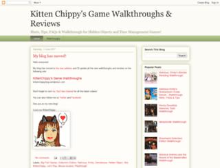 kittenchippy.blogspot.cz screenshot