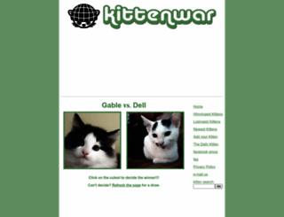 kittenwar.com screenshot