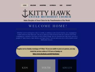 kittyhawkumc.org screenshot