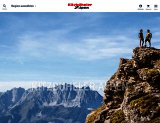kitzbueheler-alpen.com screenshot