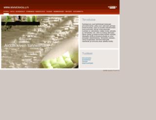 kiviverhoilu.fi screenshot