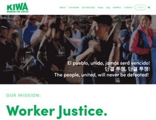 kiwa.org screenshot