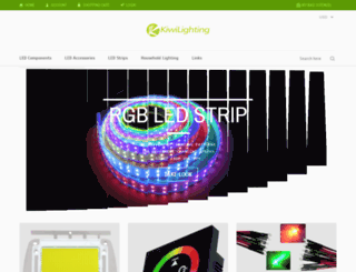 kiwilighting.com screenshot