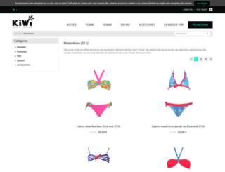 kiwioutlet.com screenshot
