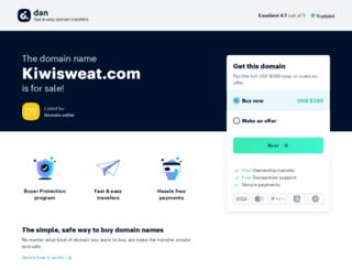 kiwisweat.com screenshot