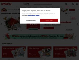 kiwoko.es screenshot