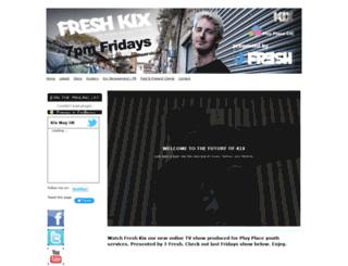 kixmagazine.org.uk screenshot