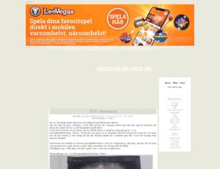 kixxans.blogg.se screenshot