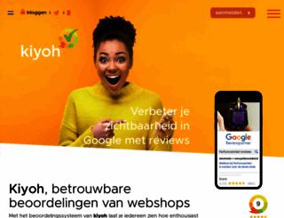 kiyoh.nl screenshot