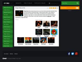 kizginatesvesu.oyunu.net screenshot