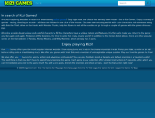 kizigamesxl.com screenshot