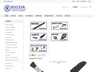 kizlyar.com.au screenshot