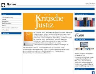 kj.nomos.de screenshot