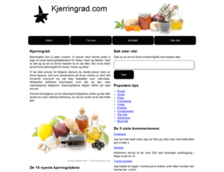 kjerringrad.com screenshot