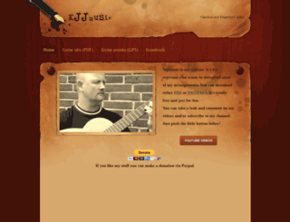 kjjmusic.weebly.com screenshot