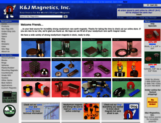 kjmagnetics.com screenshot