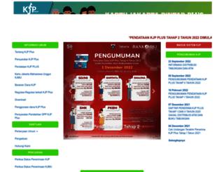 kjp.jakarta.go.id screenshot