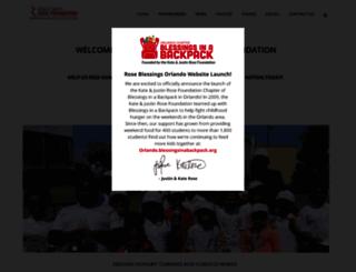 kjrosefoundation.org screenshot