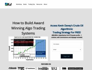 kjtradingsystems.com screenshot